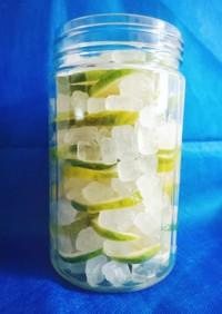 健康!簡単!氷砂糖で手作りレモンシロップ