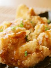鶏むね肉で絶対美味しい♥とり天♪の写真