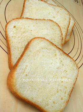 HBで♡毎日の食パン