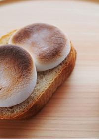 焼きチョコマシュマロトースト