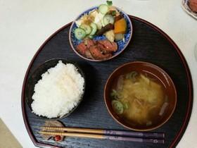 肉豆腐野菜定食(血管ダイエット食927)