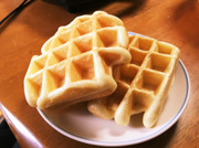 豆腐とHMのふわふわワッフル(簡単)の写真