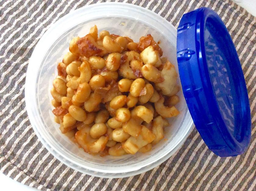 常備食♫大豆のにんにく味噌