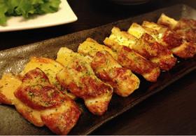 ちくわのチーズ&ポテトサラダの揚げ焼き♡