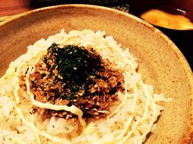 鯖味噌缶で鯖丼(*´∀`*)♡