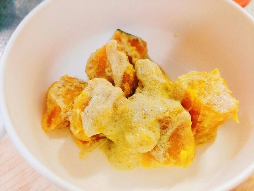 レンジで!かぼちゃのココナッツミルク煮