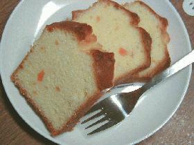 mamakissの★オレンジ風味のバターケーキ★