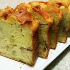 秋☆さつまいもとりんごのパウンドケーキ
