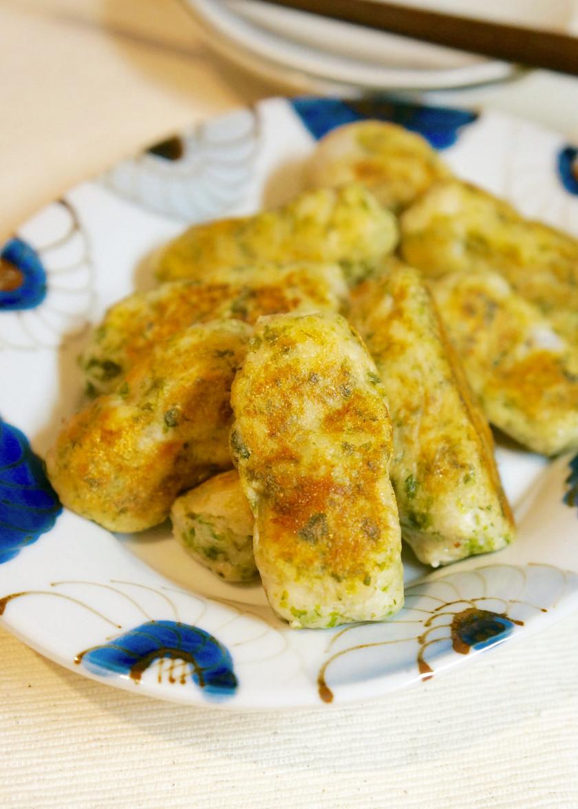 里芋の青のり磯辺焼き餅♪チーズ入り♡