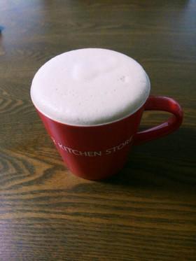 バターコーヒーでフワフワ豆乳ラテ
