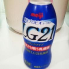 ヨーグルティアでLG21