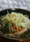 本場沖縄の野菜そば