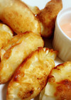 餃子の皮で♡ベーコンポテトパイ風サモサ