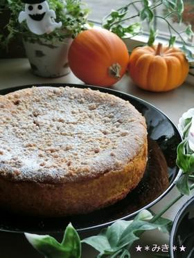 FPで♪かぼちゃチーズのクランブルタルト
