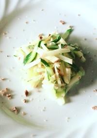 無塩☆リンゴとキュウリのヨーグルトサラダ
