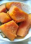 砂糖不使用つやつやホクホクかぼちゃの煮物