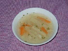 ホタテとじゃがいものスープ