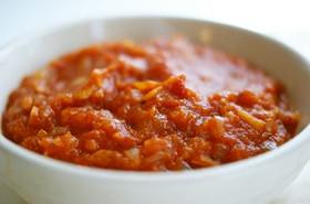 自宅で簡単!基本の味 トマトソース