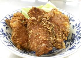 【明日香村のジビエ料理3】猪肉のからあげ
