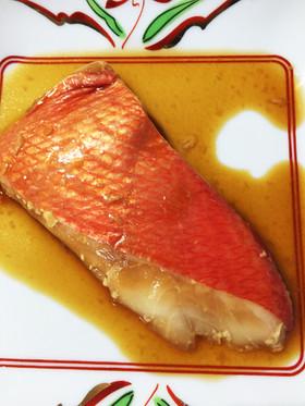 スーヴィードシェフで金目鯛ふわふわ煮付け