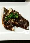白身魚の味噌ネギ焼き