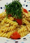 【男の料理】納豆のショートパスタ