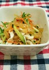 きゅうりとささみの中華サラダ