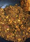 【主菜】お豆たっぷりドライカレー