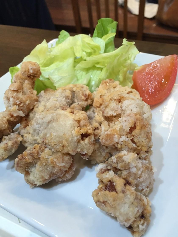 ウエイパーで☆塩味の鶏肉竜田揚げ