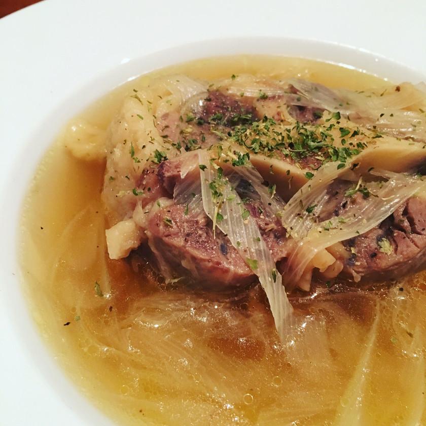 【圧力鍋】牛テールスープ