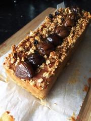 栗のパウンドケーキの写真