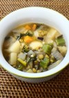 低カロリーおかず レンズ豆スパイススープ