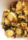 美味しすぎ!ひき肉と豆腐とにらの卵とじ丼