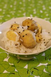★簡単美味しいもち米要らず栗ごはん・밤밥の写真