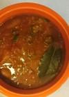 ソーセージガンボスープ