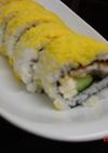 鰻のクリームチーズロール