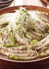 豚バラと白菜の重ね鍋