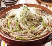 豚バラと白菜の重ね鍋の写真
