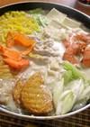 ごま味噌塩麹豆乳鍋