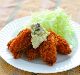 牡蠣フライの絶品曽我タルソース