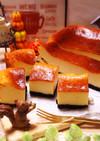 ギリシャヨーグルトでベイクドチーズケーキ