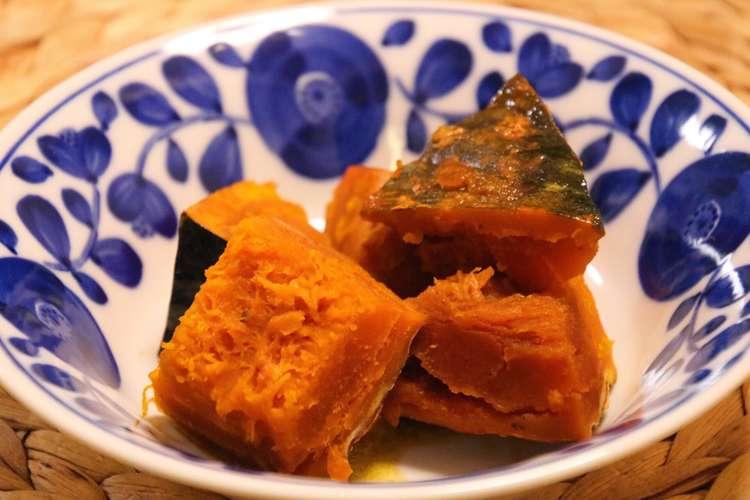 醤油 かぼちゃ バター