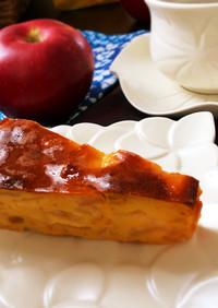 グルテンフリーな林檎のヨーグルトケーキ