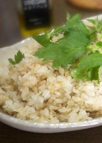 コンビニ焼き鯖の炊き込みご飯