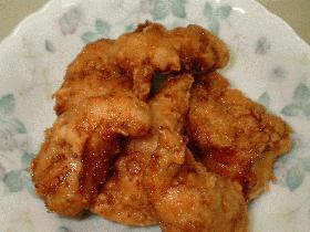 鶏ささみの生姜まぶし揚げ♪