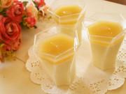 豆乳パンナコッタ~林檎のピュレソース~の写真
