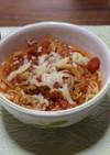 トマトのスープパスタ