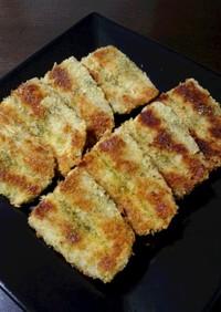 秋刀魚の開きdeパン粉焼き