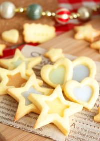 クリスマスに♪ステンドグラスクッキー