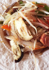 節約!ソーセージと野菜の蒸し焼き